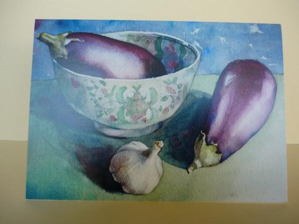 Aubergines and Garlic
