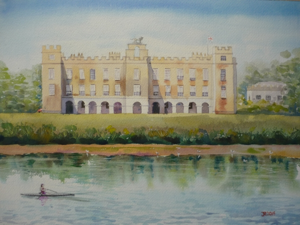 Syon House from Across the Thames II