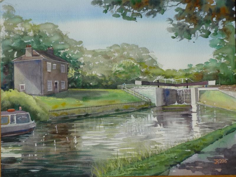 Cottage, Hanwell Locks