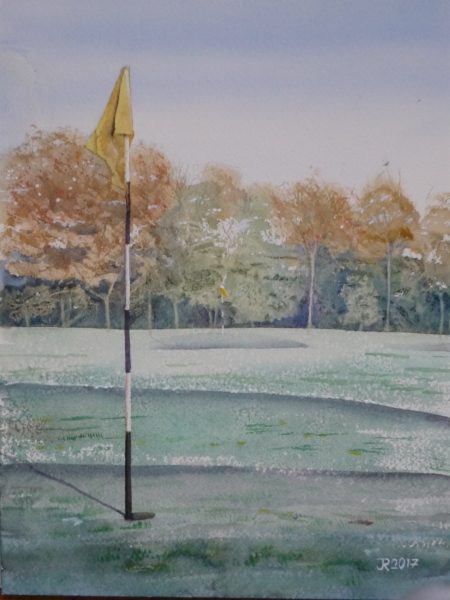 Winter Golf Course III