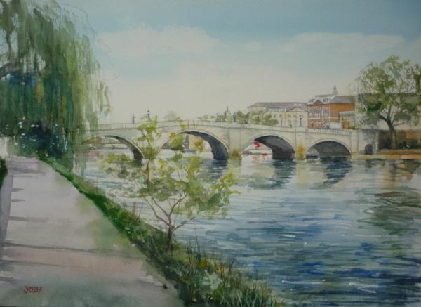 Richmond Bridge 26x36cm
