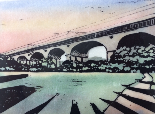 Wharncliffe Viaduct gampi print II