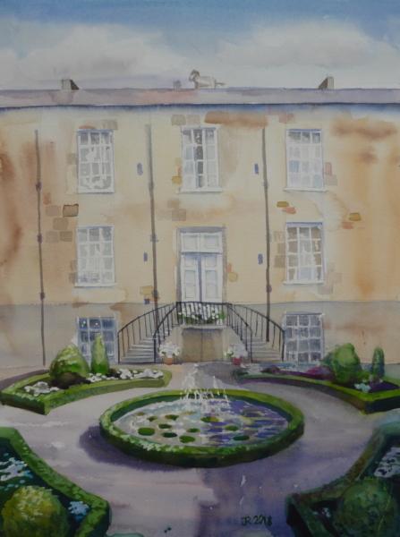 Inner Courtyard, Syon House II