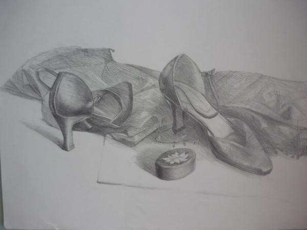Tango Shoes (pencil)